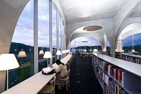 Tama Art University Library, Tokyo, Japan | Amazing Architecture ...