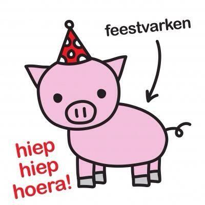 Feestvarken Verjaardag Pinterest Verjaardag