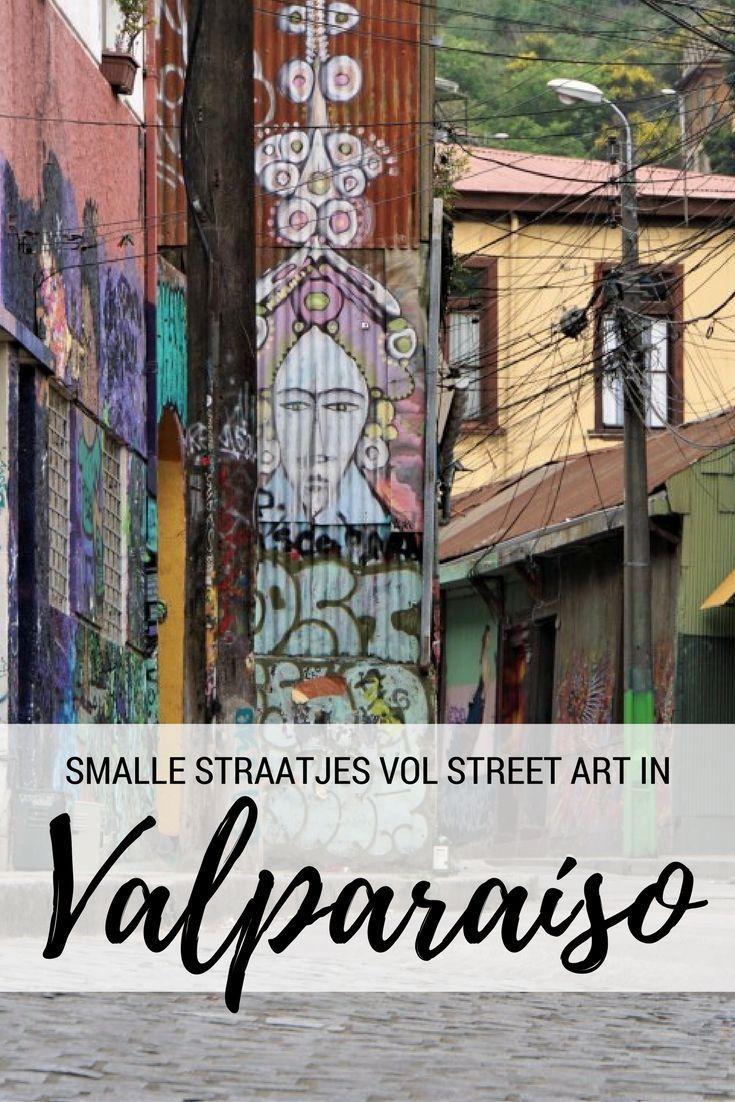Ga je naar Santiago de Chile? Bezoek dan ook zeker Valparaíso: een havenstad met een rauw randje, maar vooral heel veel mooie street art! http://travelosophy.nl/valparaiso-chili/