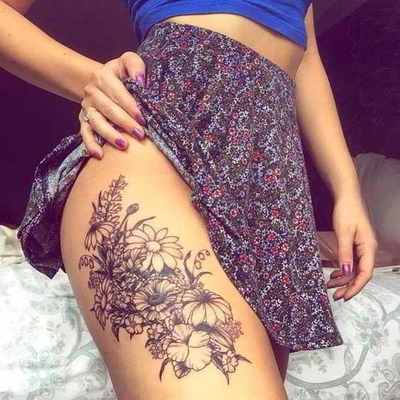 70 Tatuajes En Las Piernas Para Tapar Estrias Y Varices Tattoos