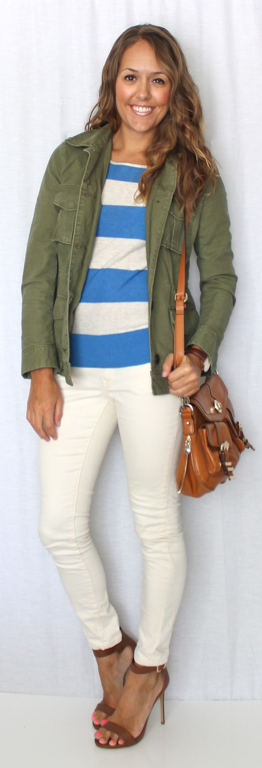 Today's Everyday Fashion: The Army Jacket — J's Everyday Fashion