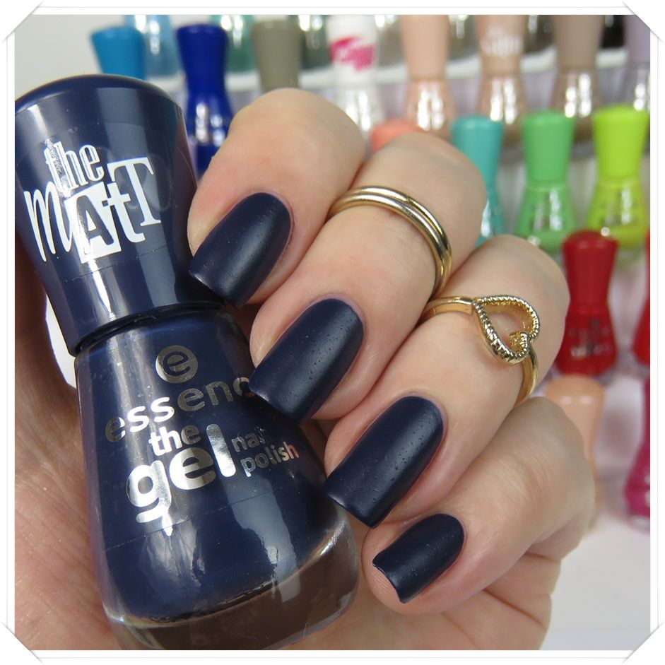 essence the gel nail polish 22 i love my blue jeans | Nagellack ...
