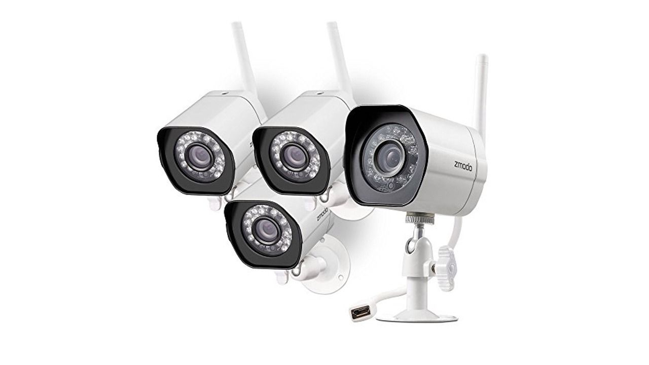 Zmodo Outdoor Wireless IP Security Surveillance Camera System Review ...