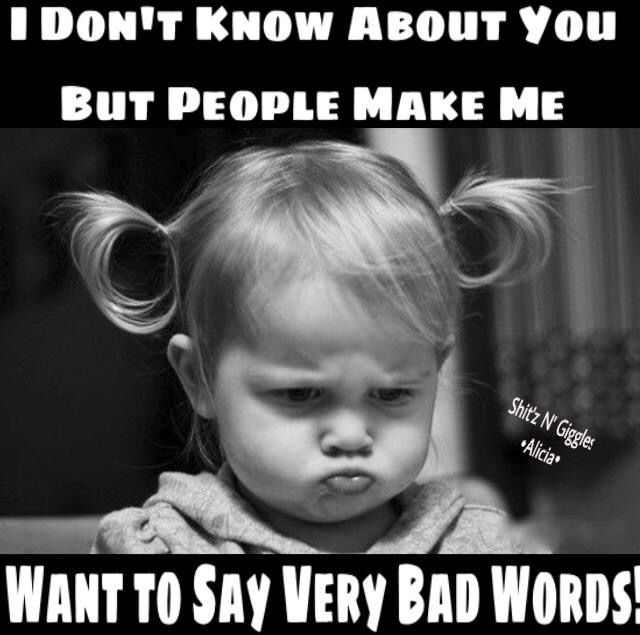 Bad Words Work Humor Funny Images Funny Quotes