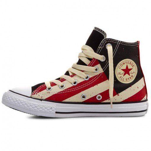 Converse Chucks Taylor All Stars Striped High Top Sneaker