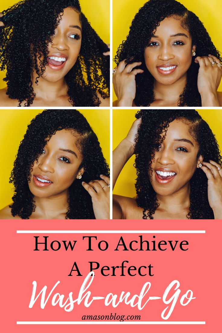 How To Achieve A Perfect Wash-And-Go - Ashlee Mason