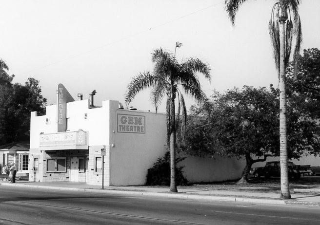 The Gem Theater 1950s Garden Grove California Photo From The Garden Grove Historical