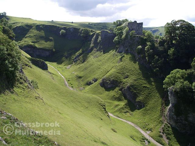 Castleton - looking up Cave Dale, Peak district. | ENGLAND ...