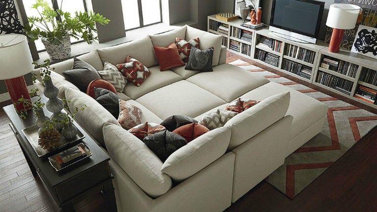 20 Cozy Living Room Ideas Square Sofa Deep Sectional Sofa Sofa Home