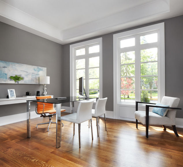 best warm gray paint colors for your office contemporary on best home office paint colors id=61865
