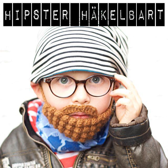 Halloween und ein gehäkelter Bart für Kinder | Vollbart, meine ...