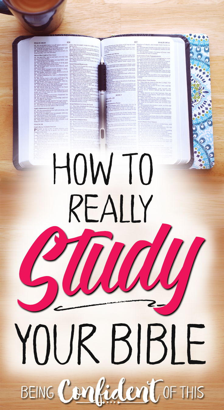 Why Reading Isn't Enough Study the Bible Bible study