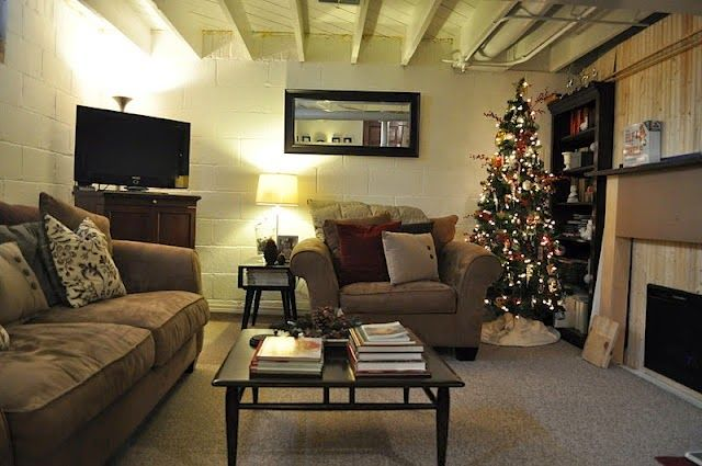 Unfinished Basement Decorating Ideas Is A Part Of All About Basement  Decorating Ideas That You Have