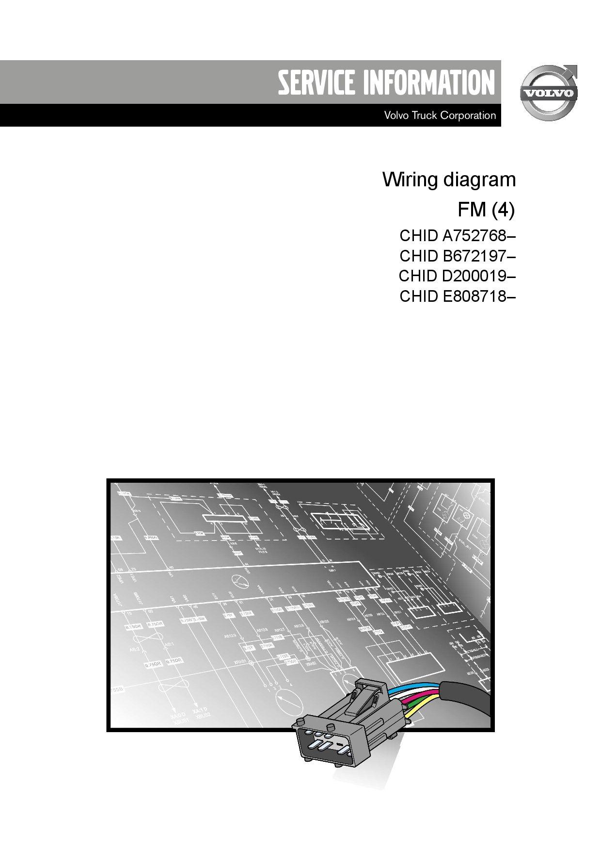 Volvo Truck Fm 4  Sept2013 Wiring Diagram Pdf Download