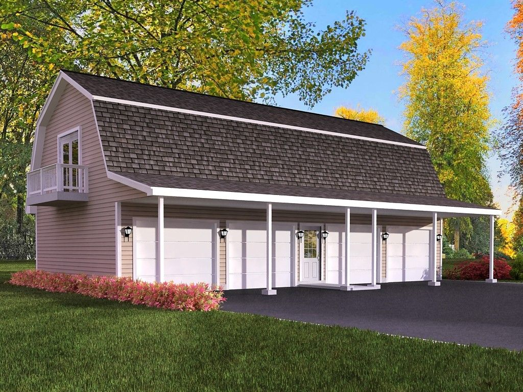 Gambrel roof garage google search groom 39 s cottage Apartment barn plans