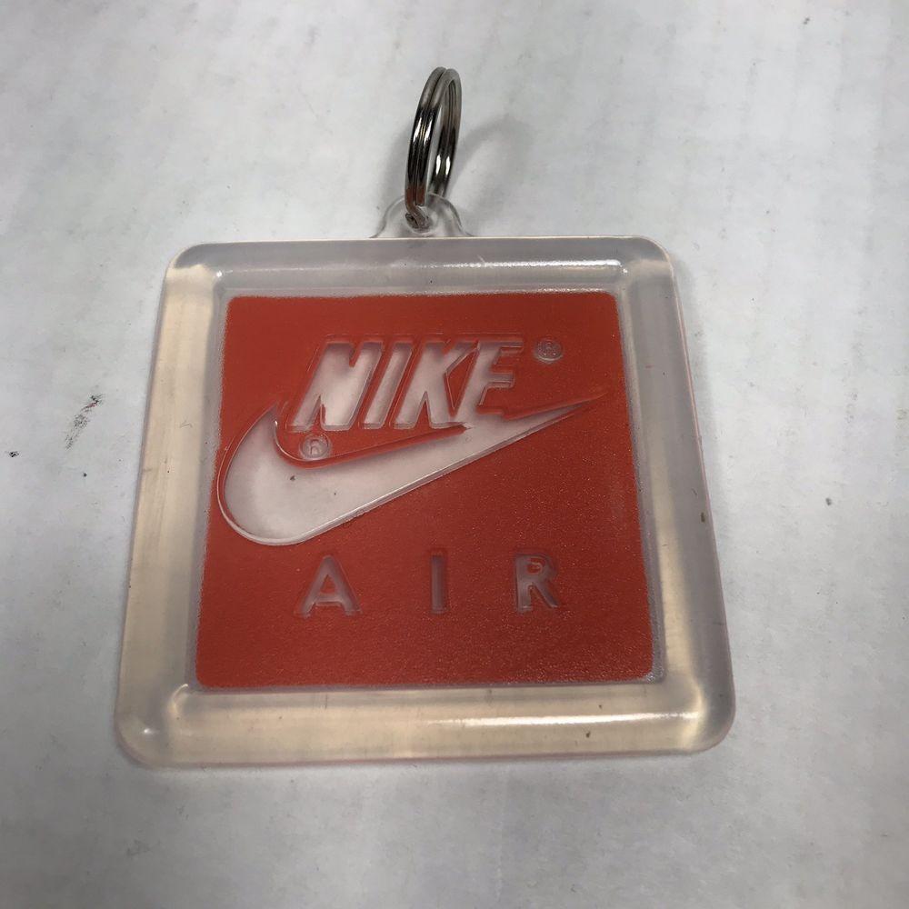 813efe5216a01a Nike Air Original Vintage Retro Keychain Hang Tag Rubber Shoe Tag Jordan  Logo  Nike