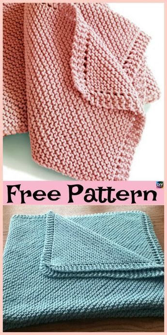 10 Easiest Knit Baby Blanket Free Patterns Knit Blankets