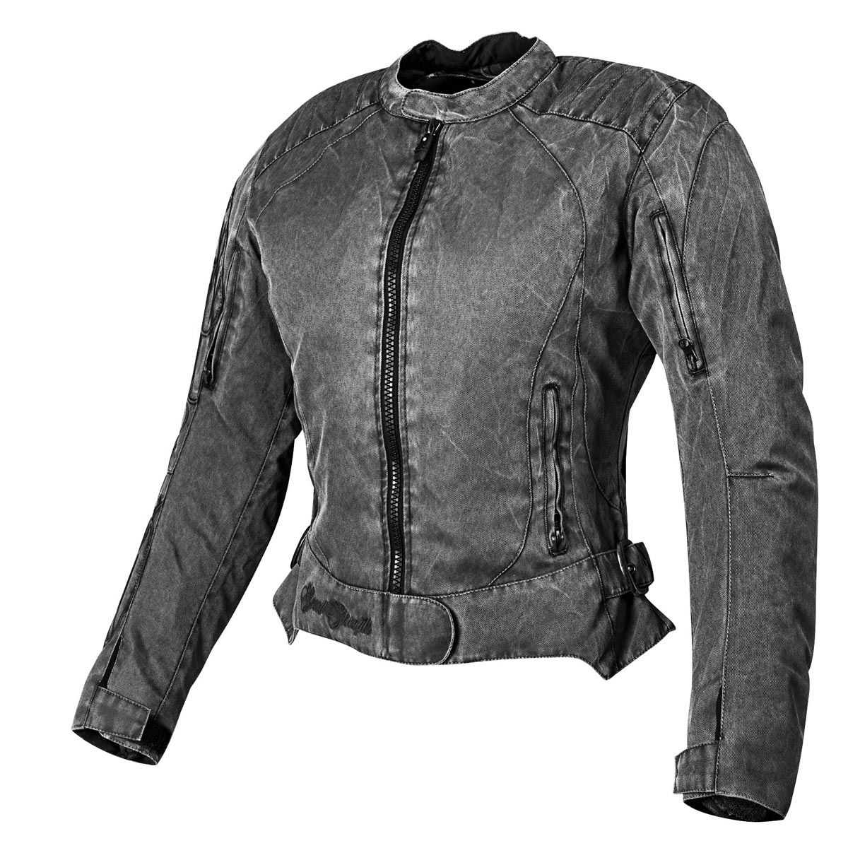Speed and Strength 'Heart and Soul' Womens Vintage/Black/Red Textile Jacket