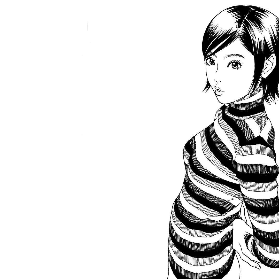 いいね!1,415件、コメント5件 ― 江口寿史 EGUCHI HISASHIさん(@eguchiworks)のInstagramアカウント: 「Sep.2002 #illustlation #artwork #manga」