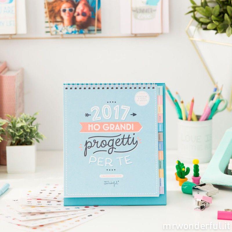 Calendario da tavolo 2017 2017 ho grandi progetti per te it tempo - Agenda da tavolo 2017 ...