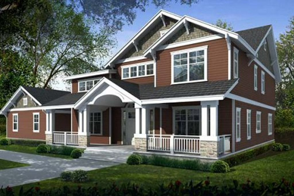 Craftsman Style House Plan 5