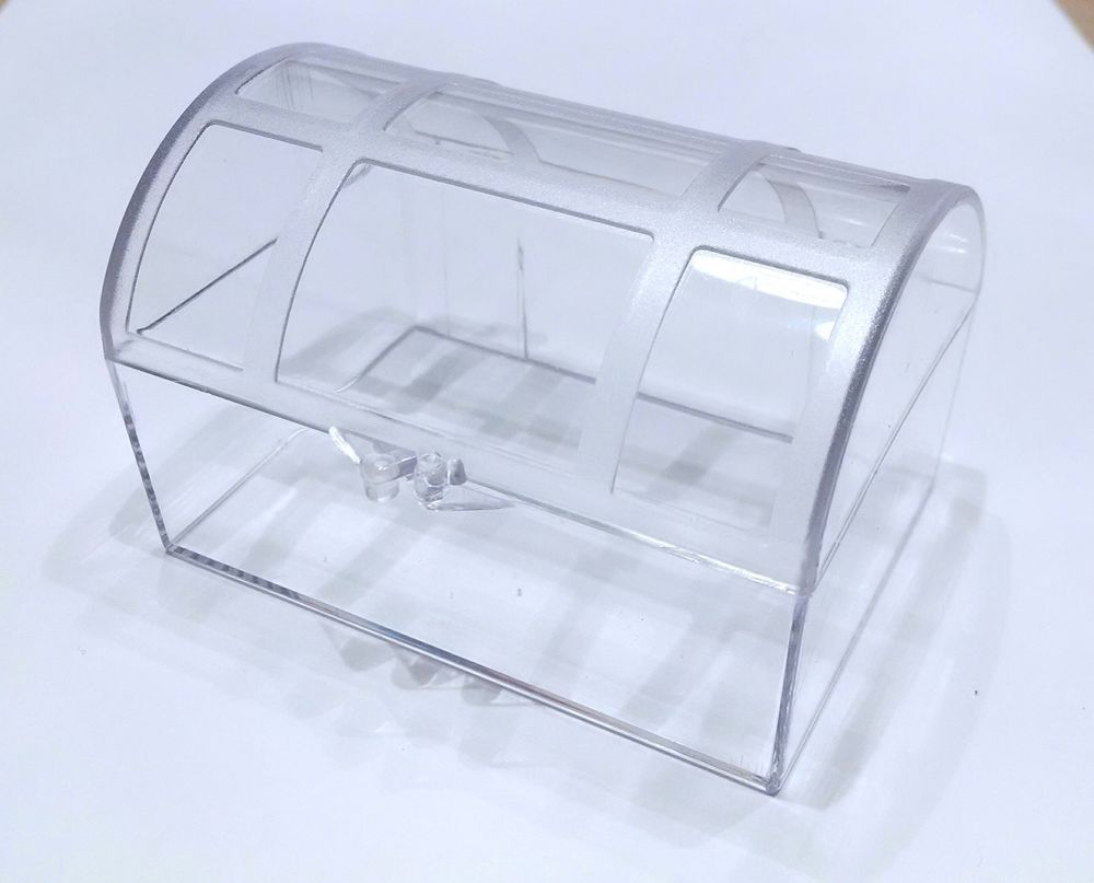 Clear plastic treasure chest favor box-party or wedding favor box ...