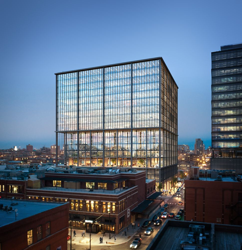 Gallery of som unveils images of chicago office tower with