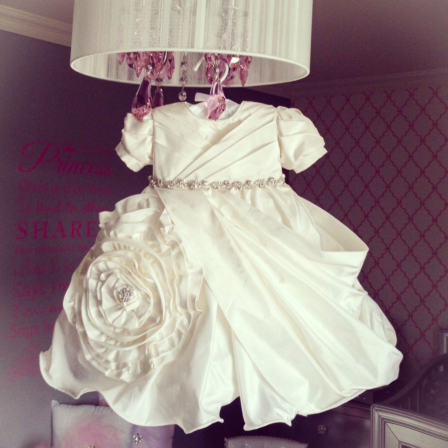 Baby girl Baptism Dress by MariaArcieroCouture on Etsy https://www.etsy.com/listing/118808633/baby-girl-baptism-dress