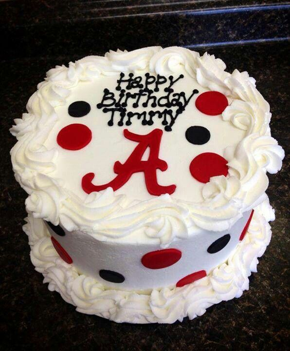 Brilliant Alabama Cake Should Totally Make One For Hayley Next Year For Personalised Birthday Cards Veneteletsinfo