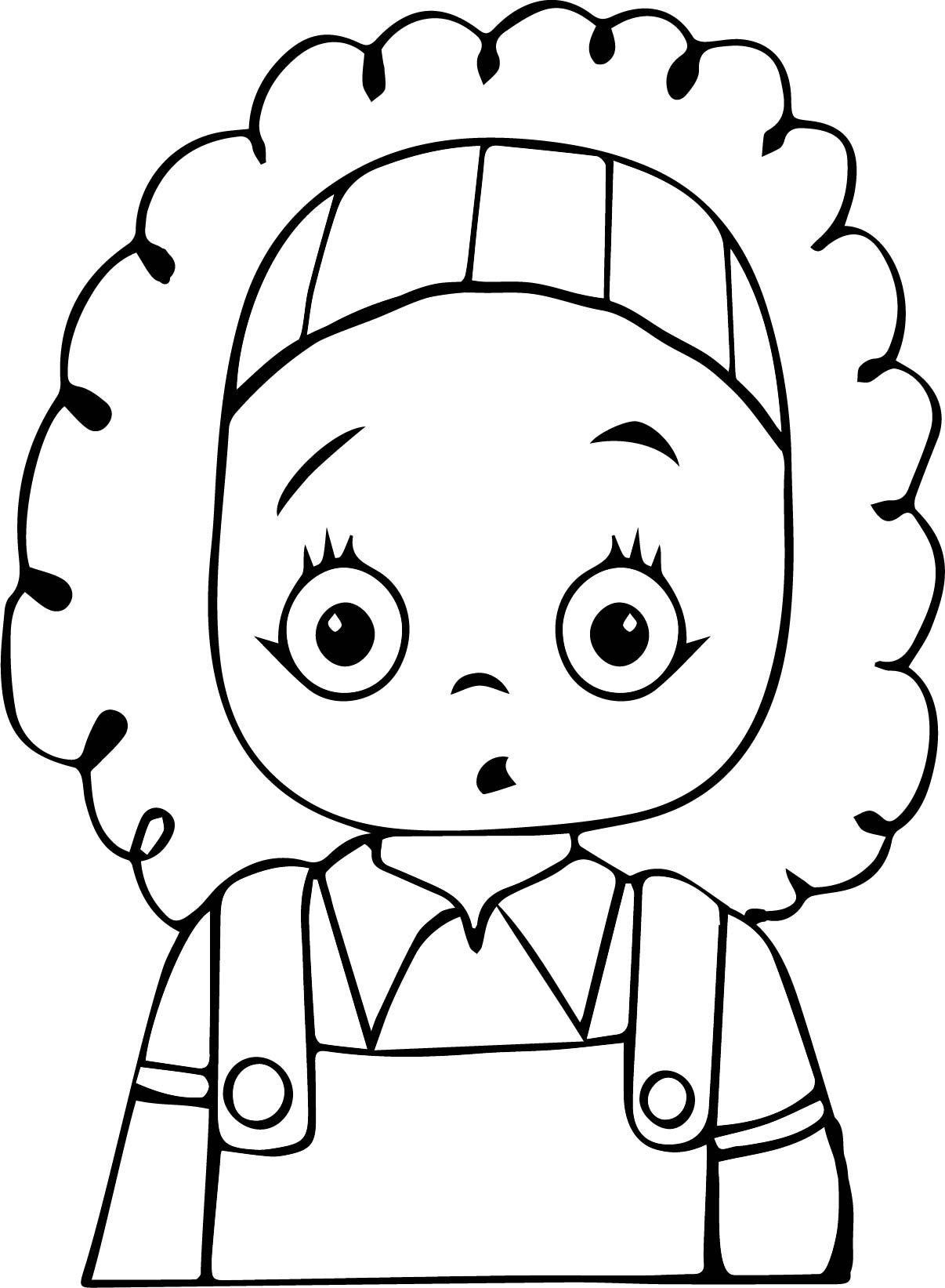 Saskin Kiz Cocuk Boyama Sayfasi Pinlerim Kids Scrapbook