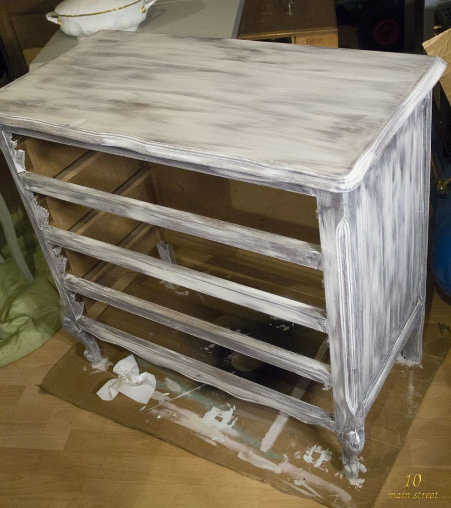 Pingl sur bricolage Ceruser un meuble vernis