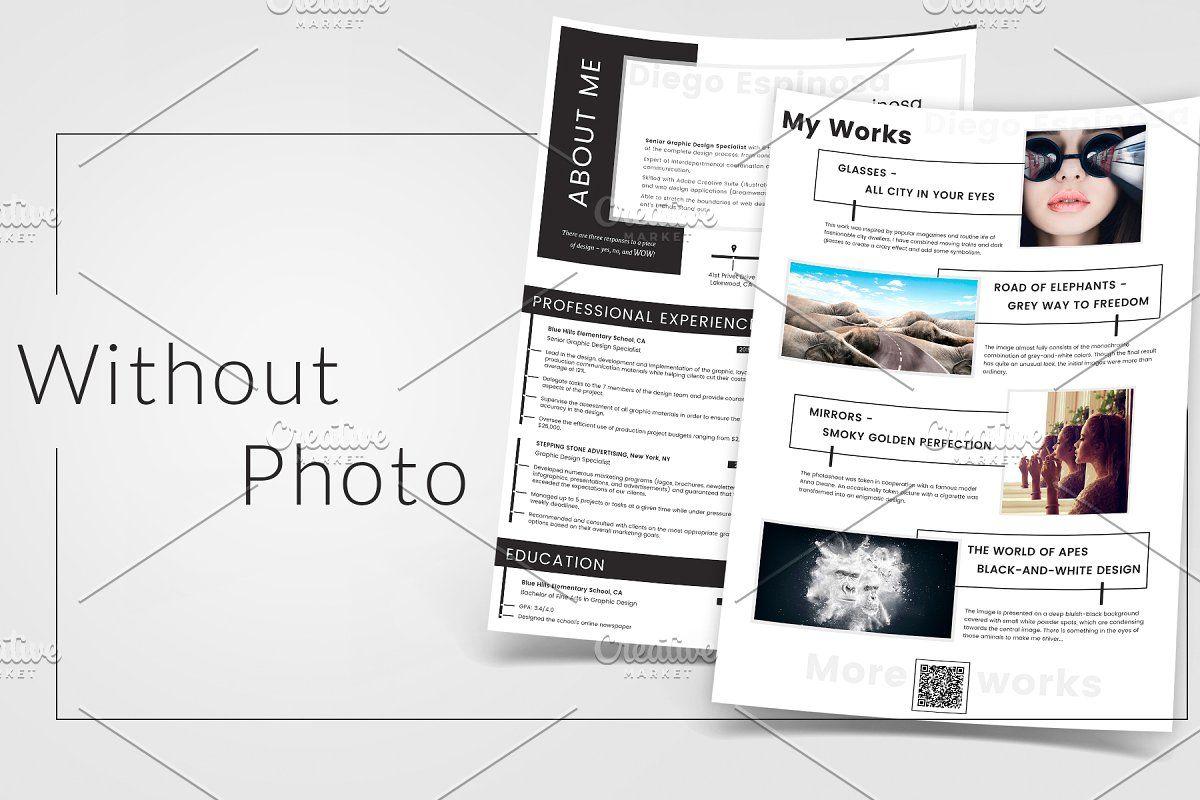 Graphic Designer Resume Creative resume, Graphic design