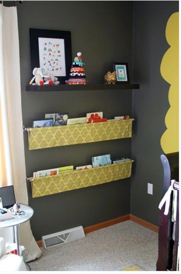 leuk+voor+in+de+kinderkamer..+maak+een+hangende+boekenrek, Deco ideeën