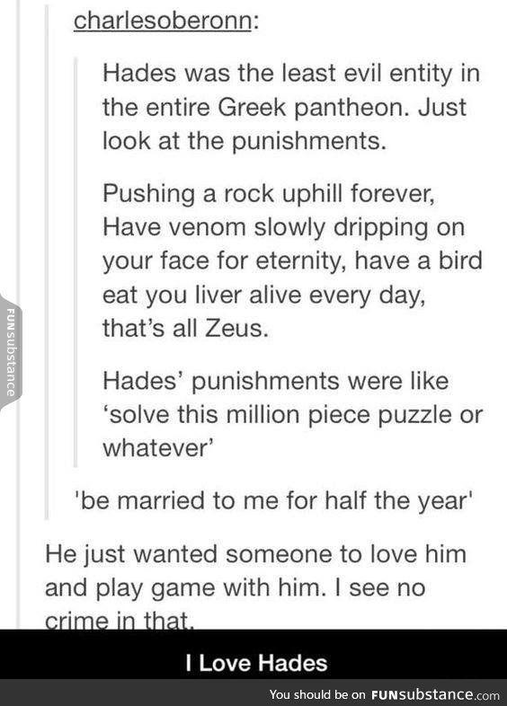 Greek mythology is just a mess tbh - FunSubstance