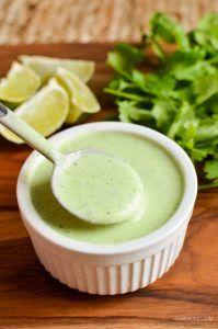 Syn Free Creamy Cilantro Lime Dressing