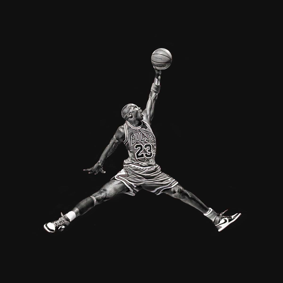 wholesale dealer 997a8 2fa37 Jumpman Logo in Real Life on Behance