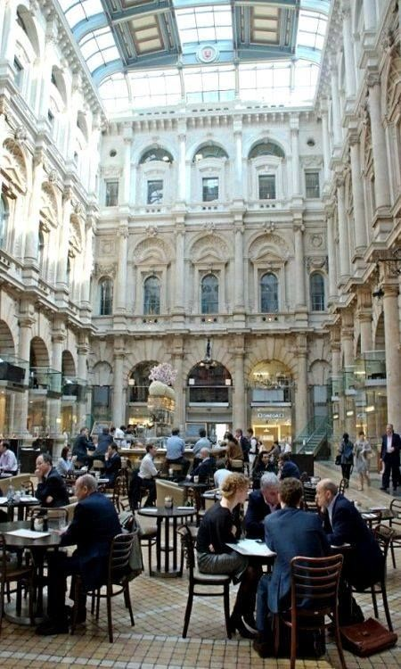The Old Royal Stock Exchange, Cornhill, London, England