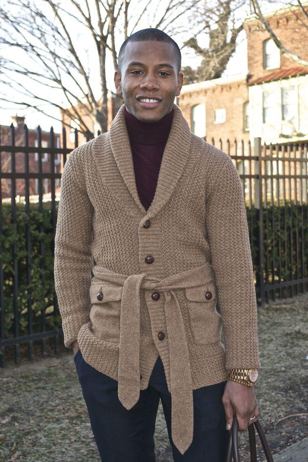 Onassis Clothing Belted Cardigan - Men s Style Pro  b0e9ab299