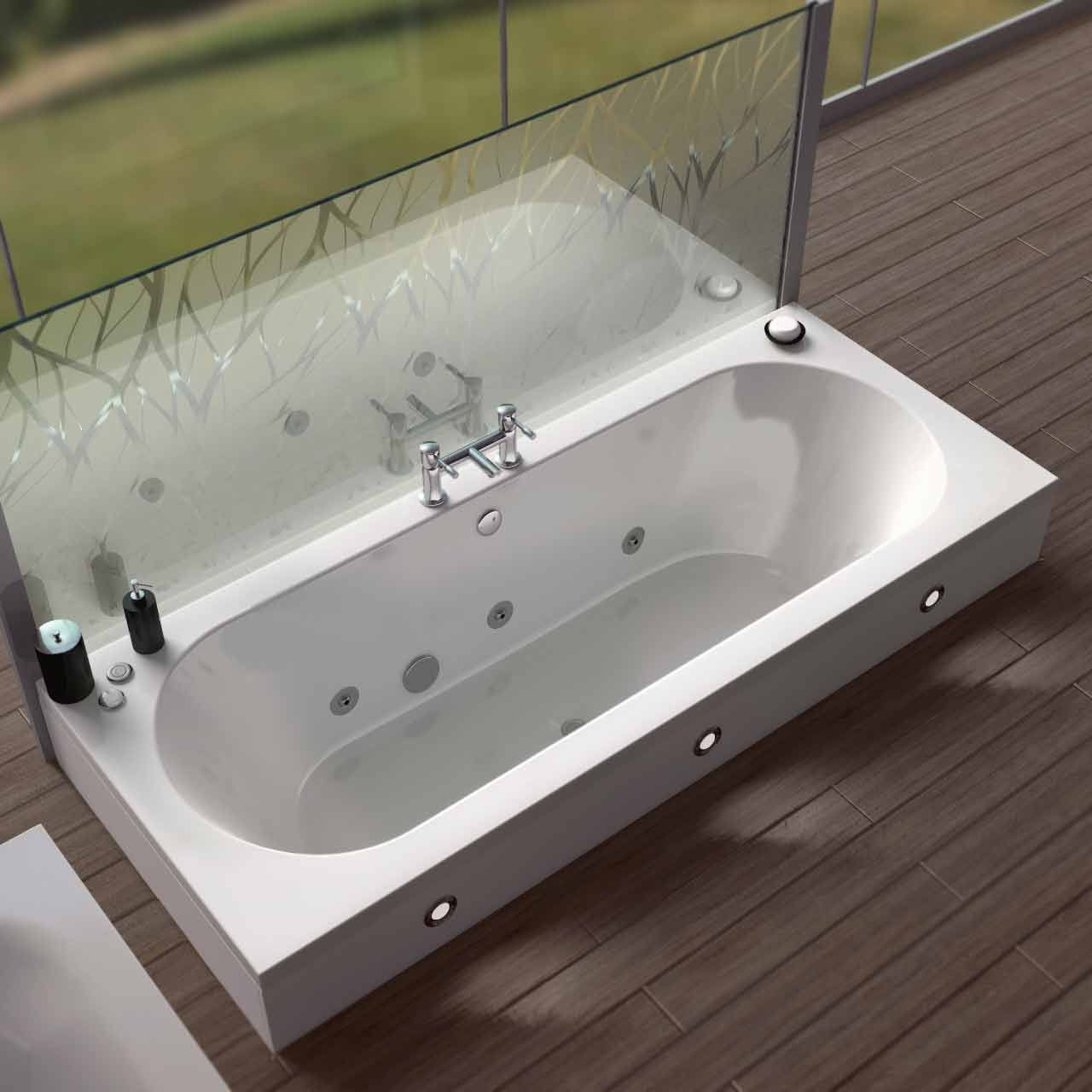 Upgrade your bath to a whirlpool bath for the ultimate spa ...