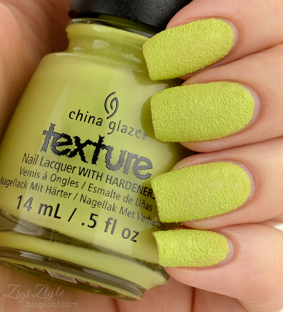 ZigiZtyle: China Glaze Texture - In The Rough
