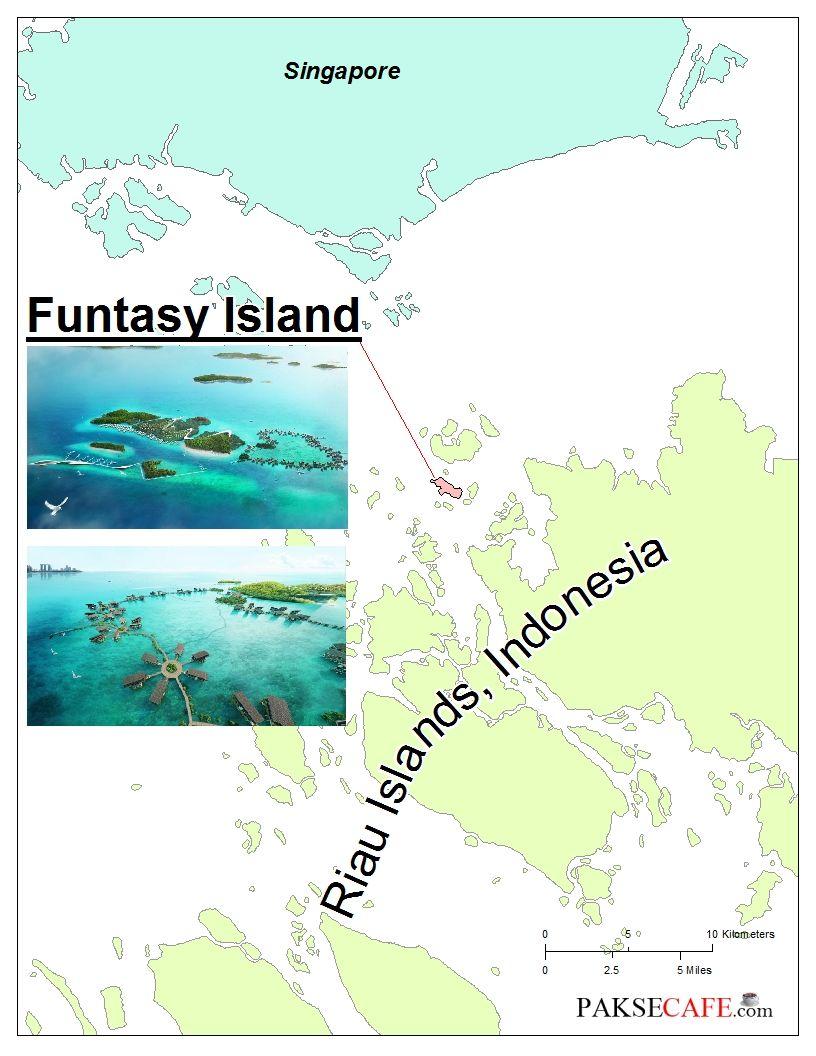 Funtasy Island Resort Riau Islands Indonesia Upon completion