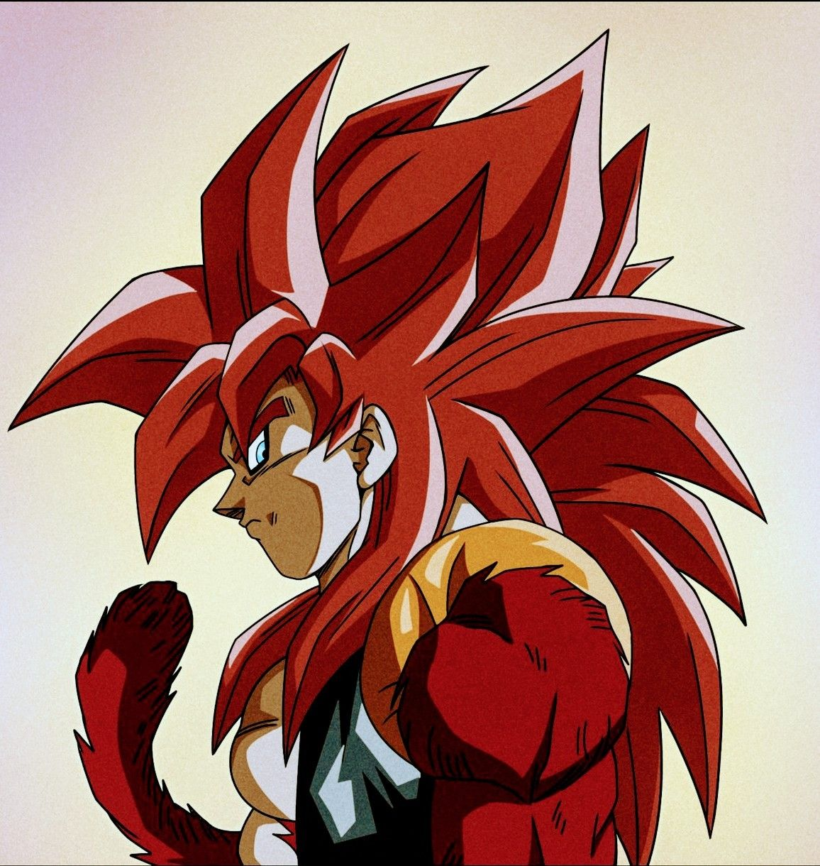 Gogeta Ssj4 Draw By Fenyo N Color By F R Art Dragon Ball Art Dragon Ball Artwork Anime Dragon Ball