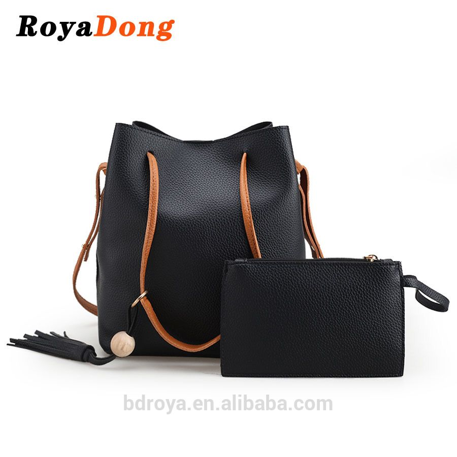 e834ccf84cc6c Royadong 2017 New Style Simple Fashion Trend High-capacity Pu Leather Women  Shoulder Bags