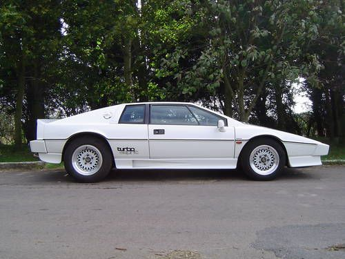1985 Lotus Turbo Esprit   we currently have 3 giugiaro esprits we are preparing for sale which ...