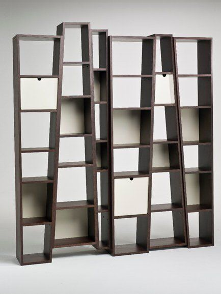 Open Double Sided Bookcase BEAT By I 4 Mariani
