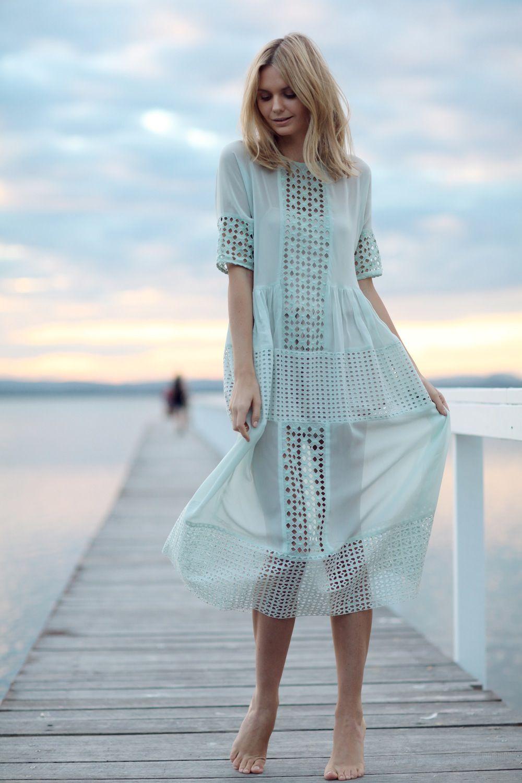 Pastel (Tuula) | Vestiditos, Vestido floreado y Vestidos para playa