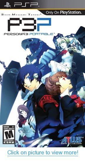 Shin Megami Tensei: Persona 3 Portable - Sony PSP #Shin #Megami #Tensei: #Persona #Portable #Sony #PSP