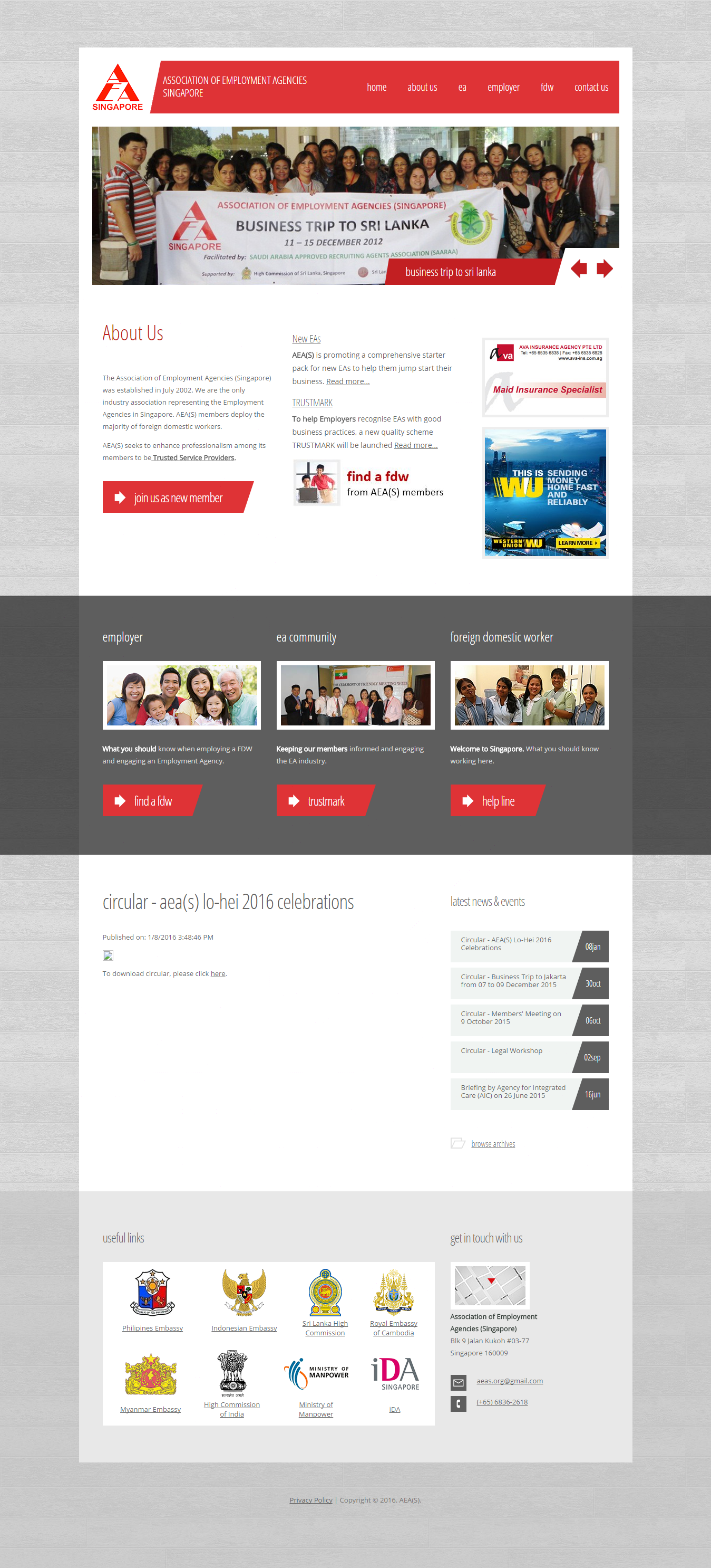 cool Website Templates Design Proposal for Adecco Singapore ...