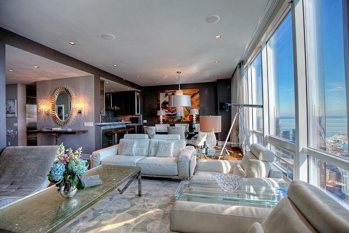 Interior Design By Debora Lyn Interior Designs | Trump Towers Chicago | Custom  Furniture | Home