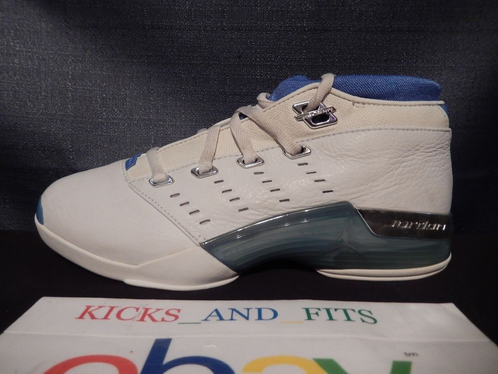 ca6c47e6bd4e0d ... WaterBlack-White DS 2002 Nike Air Jordan XVII 17 Low Carolina Blue LEFT  SHOE ONLY Amputee OG VTG ...